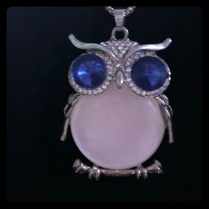 Jewelry - Owl Pendant with chain